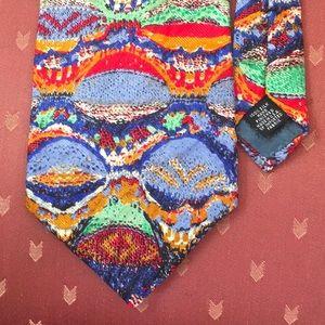 Colorful Silk Tie